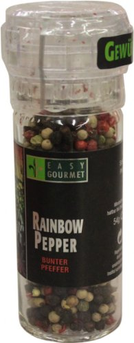 Easy Gourmet Rainbow Pepper Gewürzmühle, 1er Pack (1 x 54 g)
