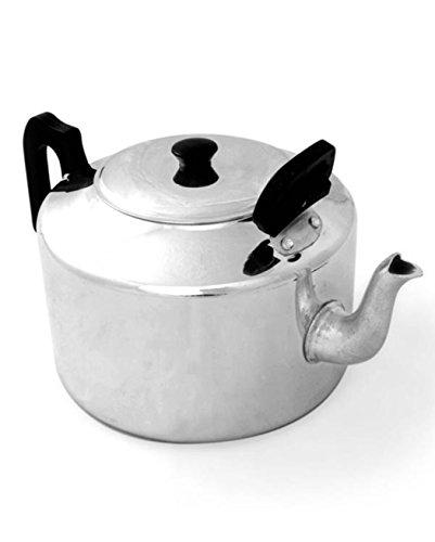 Pendeford Housewares TP18 Pendeford housewares 6 Pint Traditional Tea Pot, Sliver