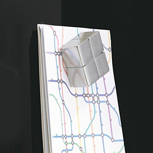 SIGEL GL240 Großes Glas-Whiteboard 130x55 cm schwarz / Premium Glas Magnettafel / Sicherheitsglas / TÜV geprüft / Magnetboard Artverum - weitere Farben/Größen - 6