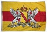 XXL Flagge Fahne Deutschland Großherzogtum Baden 150 x 250 cm