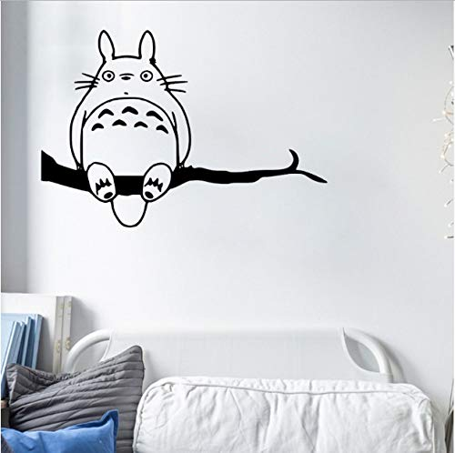 asd137588 Wandtattoo Anime Mein Nachbar Theme Ghibli Totoro Wandaufkleber Für Kinderzimmer Home Sweet Home Aufkleber Kunst Removable
