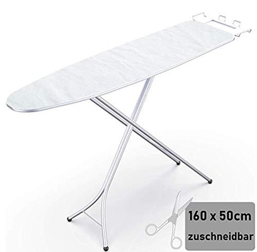 CoverMe Moltontuch für Bügelbretter (weiß, One Size)