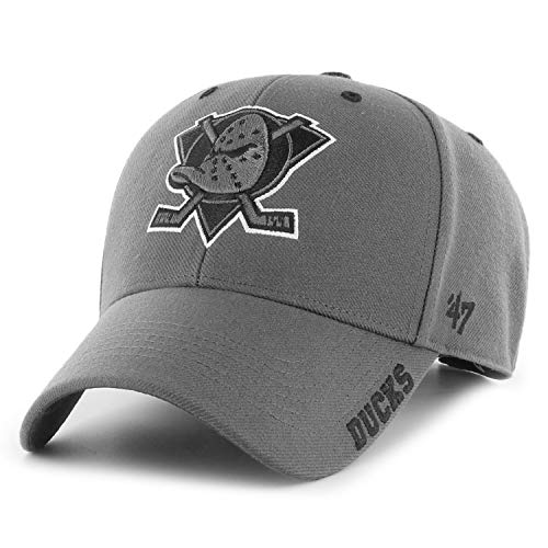 '47 NHL Anaheim Mighty Ducks - Gorra de béisbol, color gris