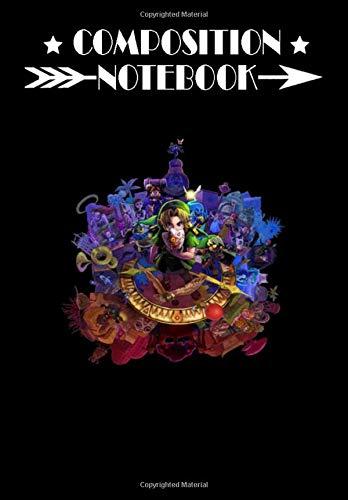 Composition Notebook: The Legend of Zelda Majora's Mask 3D Artwork #3 Fu, Journal 6 x 9, 100 Page Blank Lined Paperback Journal/Notebook