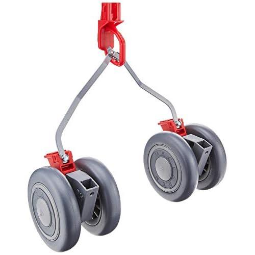 Maclaren Ruote anteriori e posteriori Quest - Si adatta saldamente ai passeggini Quest per coprire ancora miglia, Disponibile in argento