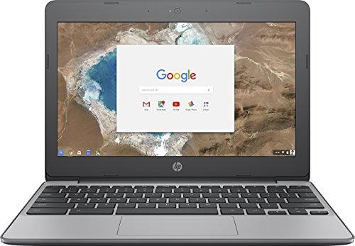 HP Chromebook 11-v051na (Y3W06EA) 11.6' HD Laptop Intel Celeron N3060, 4GB RAM, 16GB eMMC, Chrome Operating System - Ash Grey