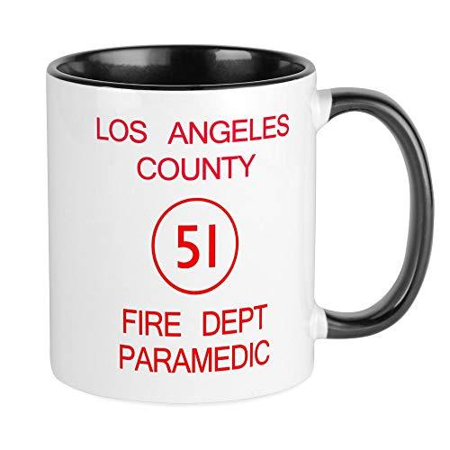 CafePress Emergency Squad 51 Mug Unique Coffee Mug, Coffee Cup