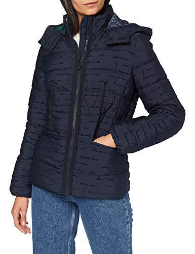 Desigual Womens Padded_Natasha Quilted Jacket, Blue, M