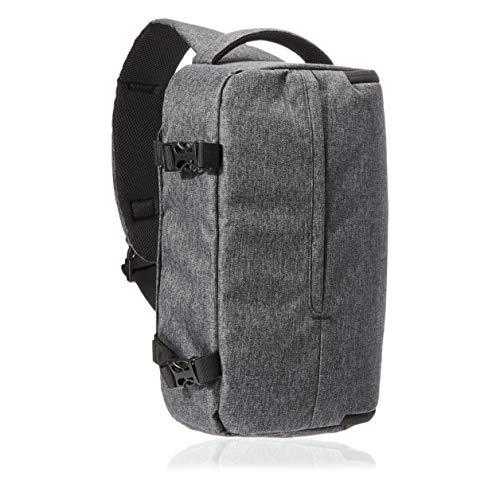 Amazon Basics – Arnés para cámara, poliéster 840D impermeable de alta densidad, gris ceniza