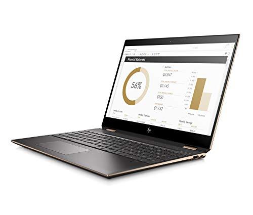 HP Spectre X360 15-df1004TX 15.6-inch Laptop (9th Gen Core i7-9750H/16GB/512GB + 32GB SSD/Windows 10/4GB NVIDIA GeForce GTX 1650 Graphics), Dark Ash Silver