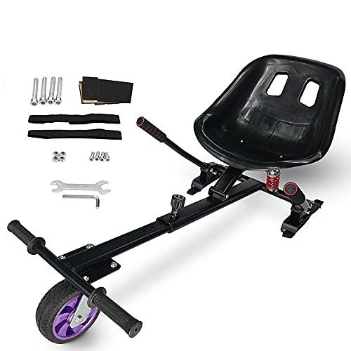 FUSIYU Asiento Kart Pro, Silla de Hoverboard Todoterreno con suspensiones Self Balancing...