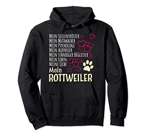 Bekleidung Hunde Besitzer Spruch Geschenk Rottweiler Pullover Hoodie