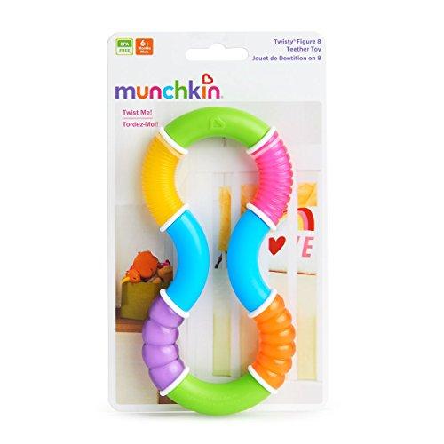Munchkin Anneau de Dentition - Twisty Figure 8 - Modèle Aléatoire