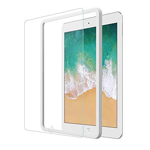 NIMASO【ガイド枠付き】iPad 9.7 用 ガラスフィルム iPad Air2 / Air (2013) / iPad Pro 9.7 対応 保護 フイルム