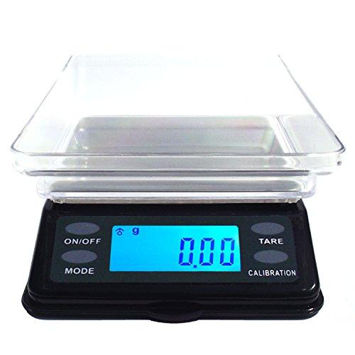 Dipse Série MTW Mini balance de table numérique avec couvercle de protection 200 g/0,01 g, 500 g/0,1 g, 200g x 0,01g