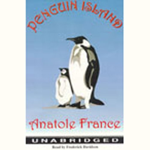 Penguin Island  audiobook cover art