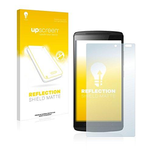 upscreen Entspiegelungs-Schutzfolie kompatibel mit Lenovo A7010 – Anti-Reflex Bildschirmschutz-Folie Matt