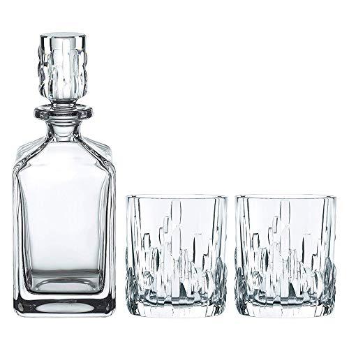 Spiegelau & Nachtmann, Whisky-Set, 3-teilig, Karaffe mit 2 Gläsern, Kristallglas, Shu Fa, 101040