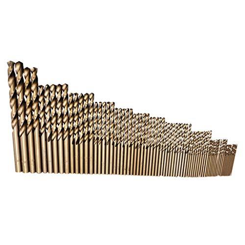 74 TLG HSS Twist Drill Bohrer Mini Spiralbohrer, Micro Bohrer Set, Holzbohrer Handspiralbohrer Bohrersets Spiralbohrer-Set Handbohrer Drillbohrer Drill Set 1mm-8mm