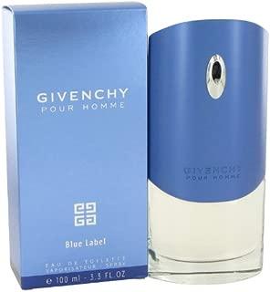Gîvéñchý Blue Label by Gîvéñchý for Men Eau De Toilette Spray 3.3 oz