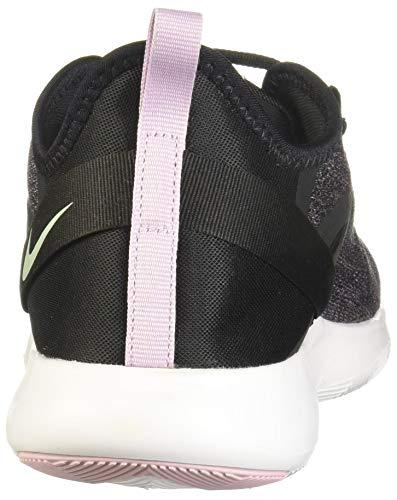 Nike Women's Flex Trainer 9 Cross, Black/Pistachio Frost-iced Lilac-White-Noble Red, 10 Regular US Massachusetts
