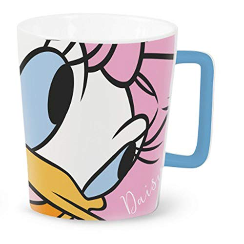 Disney - Taza de té con asa, 320 ml, porcelana, apta para lavavajillas, regalo infantil