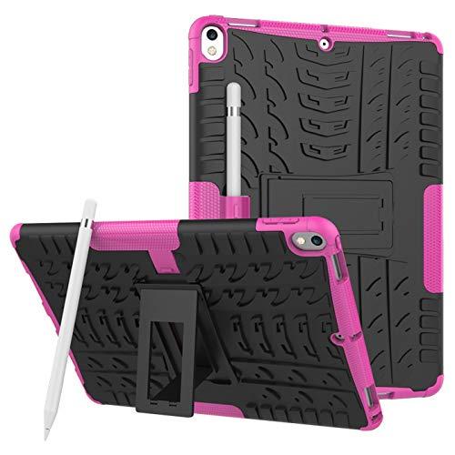 voor iPad Pro 12.9 Tablet Hoesje Case Case, Heavy Duty Shock Absorption Armor TPU/PC Hybrid Impact Schokbestendige Defender Beschermhoezen iPad Pro 12.9 2e Generatie (scherm 12.9 Inch), for iPad Pro 12.9 2th, 7