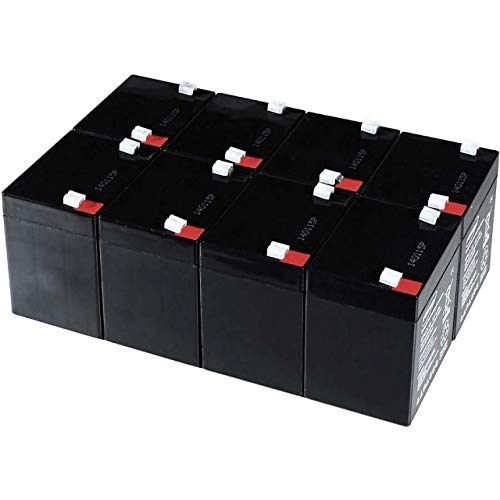 akku-net Blei-Gel-Akku für USV APC Smart-UPS SUA3000RMI2U, 12V, Lead-Acid