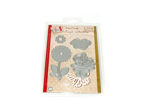 Scrap Collection 2501095 Flores - Troquel para scrapbooking, A6