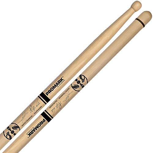 Pro Mark txdcbyosw'Bring tu propio estilo' Byos de nogal madera ovalada punta tambor Stick