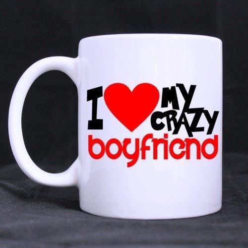 N\A TazaBlancadeModaTazaBlancadecafédecerámica'ILoveMYBoyfriend'(11onzas)-LosMejoresartículosparaelhogar/Necesidades/Regalo/Hogar/Oficina/EleccióndelaTienda