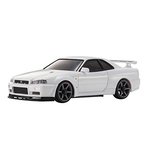 Kyosho Mini-Z MA020 Sports 4WD Nissan Skyline GT-R R34 V.spec II (KT19) White