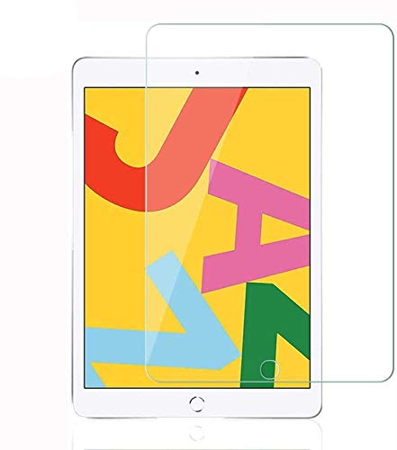 [ 3 Pack ] Tempered Glass Screen Protector Compatible With iPad 10.2 8th Gen 2020 Release/iPad 10.2 7th Gen 2019 Release/iPad Air 10.5 Inch 2019 Release/iPad Pro 10.5 Inch 2017 Release