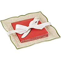 Lenox Holiday 3-Piece Carved Napkin Tray Set