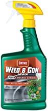 Ortho Weed B Gon MAX Weed Killer for Lawns Plus Crabgrass Control Ready-To-Use Trigger Spray, 24-Ounce (Not Sold in HI)