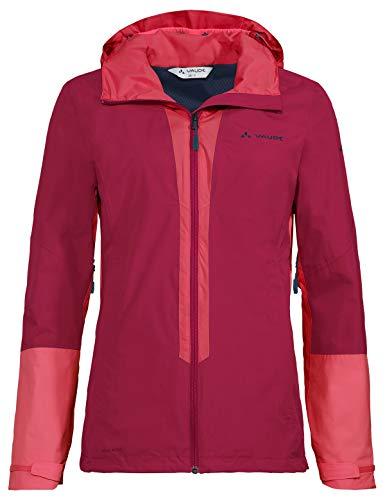 VAUDE Damen Jacke Women's Kofel LW Jacket II, crimson red, 36, 413999770360