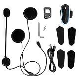 Intercomunicador Bluetooth, Velocidad de transmisión más rápida Casco Auriculares Bluetooth Alta eficiencia Bluetooth 4.1 para Motocicleta