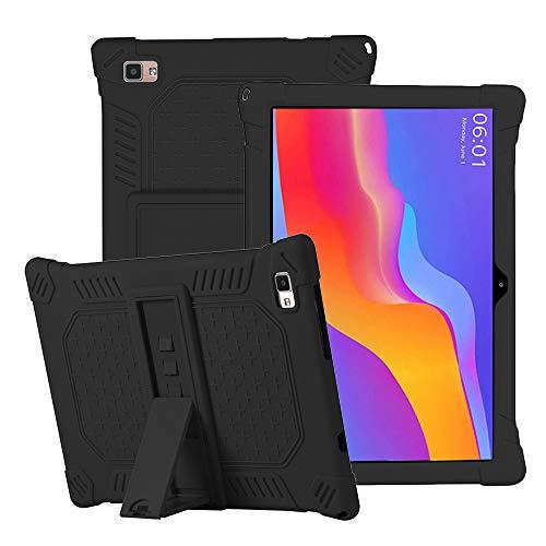 YGoal Funda para YESTEL T5 - Cubierta Protectora a Prueba de rasguño Suaves para niños de Peso liviano Silicona Case Cover para YESTEL T5 10 Pulgada Tablet, Negro