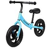 """12"""" Balance Bike Carbon Steel Frame No Pedal Walking Balance Bike Training Bicycle"""