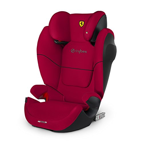 Cybex Silver Solution M-fix SL, Autositz Gruppe 2/3 (15-36 kg), Ferrari Kollektion, Racing Red