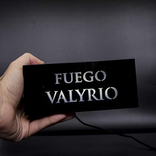 Fuego Valyrio :DESATADOR DE PODER (Expositor imantado con luz)
