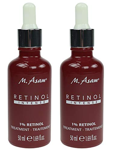 M. Asam® Retinol Intense 1% Retinol Treatment 2x50ml - mit verkapselten Retinol