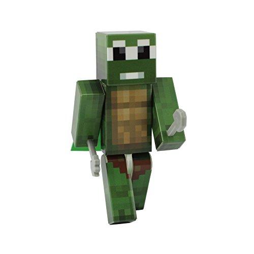 EnderToys Turtle Action Figure Toy, 4 Inch Custom Series Figurines