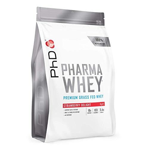 PhD Pharma Whey Protein Powder, Strawberry Delight, 1 kg