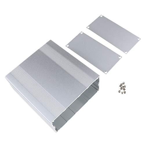 Aluminium Leergehäuse Industriegehäuse Metall Gehäuse Box Kasten, 9 Größe Auswahlbar - 145 x 68 x 160 mm
