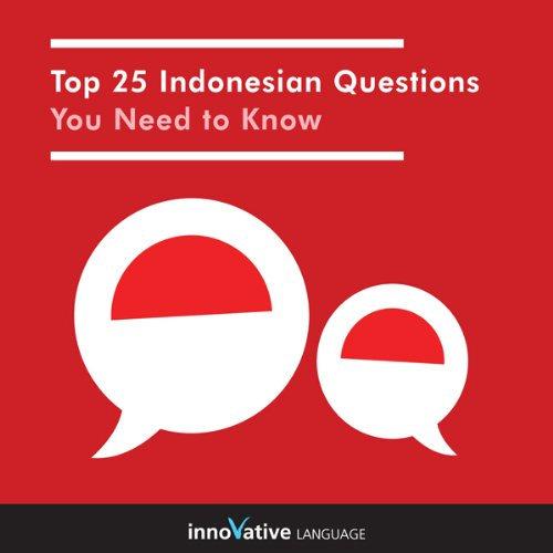 Top 25 Indonesian Questions You Need to Know cover art