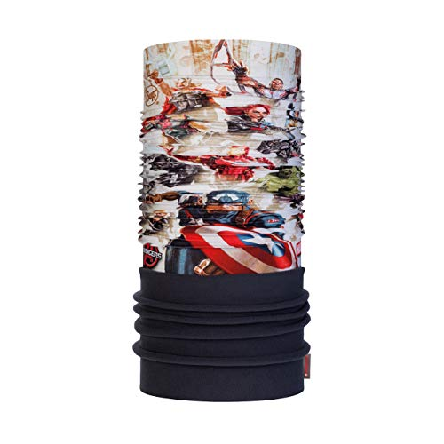 Buff The Avengers Tour de Cou Polaire Super Heroes Multi FR : Taille Unique (Taille Fabricant : Taille One sizeque)