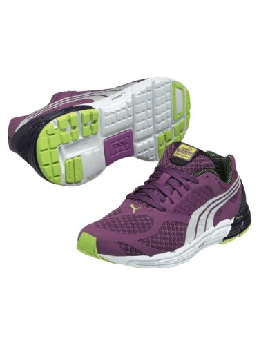 Puma W Faas 500 S - Zapatillas de Running de Tela Mujer Morado Morado Talla:42.5