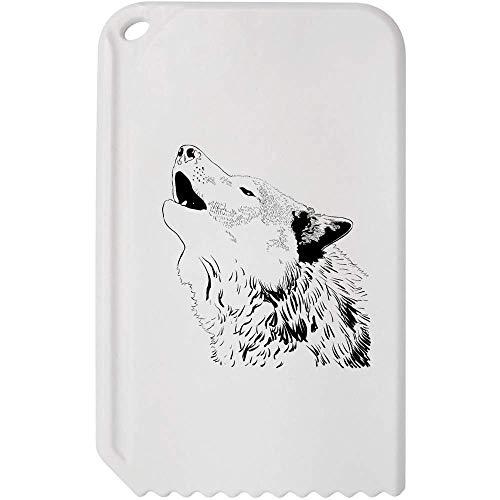 Azeeda 'Heulender Wolf' Kunststoff-Eiskratzer (IC00013515)