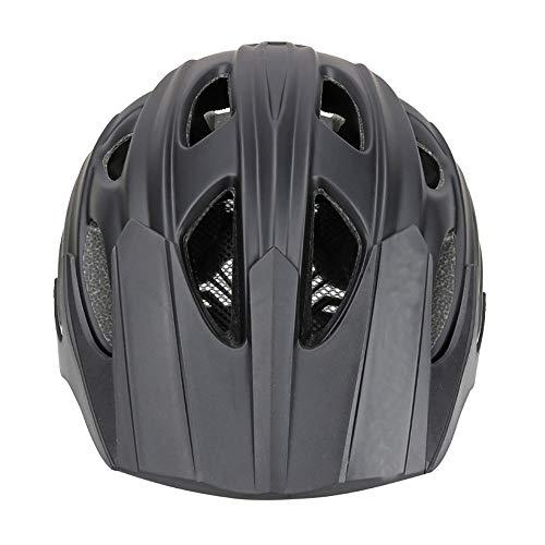 Faus Koco Mountain Bike Safety Helm Integrierter Outdoor-Reithelm Fahrradhelm Atmungsaktiv (Color : Black)